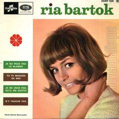 Ria Bartok - Je ne peux pas le blâmer +3 (EP 1965) https://youtu.be/xkmtjQsOw34