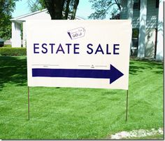 From YellowBirdEstateSales: great tips if you are having an estate sale at your home.