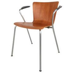 VicoDuo Chair by Vico Magistretti for Fritz Hansen and Knoll Studio