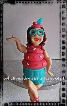 Os Bolinhos da Sandra: Carnaval - Madame Cupcake