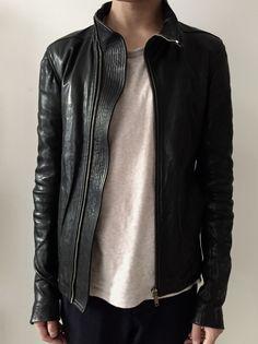 Rick Owens Mollino Leather Jacket