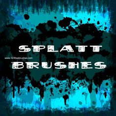 Paint Splatter 63 - Download  Photoshop brush http://www.123freebrushes.com/paint-splatter-63/ , Published in #GrungeSplatter. More Free Grunge & Splatter Brushes, http://www.123freebrushes.com/free-brushes/grunge-splatter/ | #123freebrushes