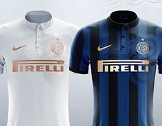 Concept Unofficial of Fc inter 9 March inspired by snake of 2011 away shirt. Home: classic 4 black strips on light blue jersey, Golden vinyl applications and overlay snake on dx shoulder. Away: Total white jersey, Vinyl copper applications and … White Jersey, New Work, Snake, Soccer, March, Football, Concept, Athletes, Behance