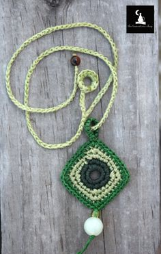 Shop for on Etsy, the place to express your creativity through the buying and selling of handmade and vintage goods. Crochet Necklace Pattern, Crochet Belt, Crochet Jewelry Patterns, Love Crochet, Crochet Accessories, Crochet Flowers, Crochet Earrings, Rope Jewelry, Fabric Jewelry