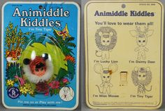 Liddle Kiddles 1968 #3636 Animiddle Tiny Tiger MOC