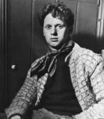 "Dylan Thomas...""Do not go gentle into that good night, old age should burn and rave at close of day; rage, rage against the dying of the light."""