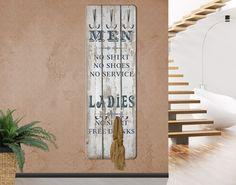 Garderobe Vintage - No.RS181 Men and Ladies - Wandgarderobe