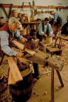 Historic Trades Demonstrations - Coopering