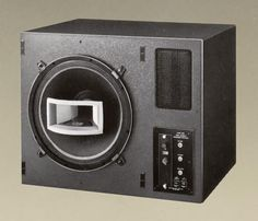 UREI 811B - 1984, 801B Coaxial Full Range Driver consist of Woofer by PASS + 2425 Driver by JBL