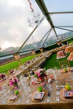 Unique And Special Wedding Tents Ideas