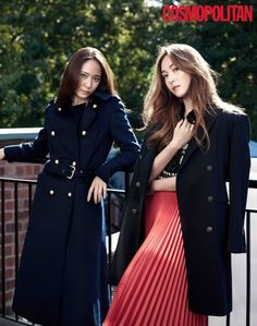 The Jung Sisters, Jessica Jung and Krystal Jung are being featured in the latest issue of the fashion publication Cosmopolitan. Krystal Jung Fashion, Jessica Jung Fashion, Jessica Jung Style, Girls Generation Jessica, Girl's Generation, Krystal Fx, Jessica & Krystal, Magazine Cosmopolitan, Instyle Magazine