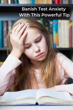 Banish test anxiety for good with these tips from LalyMom. Tests are hard! Some kids experience nerves and anxiety when faced with a test. Check out this powerful tip from a mom who's been there! What can you do to reduce your child's stress level and help them face a test without anxiety? Find help here! #kids #school #anxiety #stress #teachers #momtips #momhelp