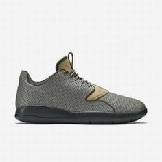 5a73d4259 Nike Men s Tumbled Grey Flat Gold Anthracite Cinnabar Jordan Eclipse  Leather