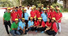 Students of #SanskritiUniversity participated in #VisionDivyang2017 programme at Talkatora Stadium, Delhi
