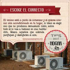 Tu Casa Express te comparte algunos tips para elegir el aire acondicionado perfecto para ti.