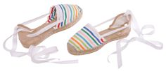 Striped flat espadrilles MARIBEL