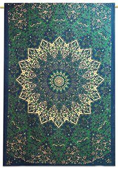 Mandala Star Indian Wall Hanging Cotton Tapestry Twin Size Blue Beach Tapestries 84X56 Inches, http://www.amazon.com/dp/B00VA6VYBC/ref=cm_sw_r_pi_awdm_nPiyxbAF8260E