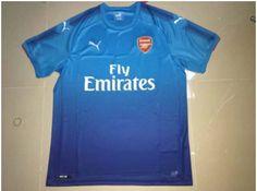 Adult Arsenal Away Blue Jersey Fans Version Arsenal Jersey, Fans, Sports, Mens Tops, T Shirt, Blue, Shopping, Hs Sports, Supreme T Shirt