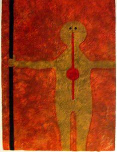 Rufino Tamayo - Hombre con baston