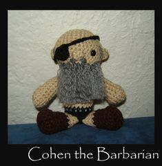 Cohen the Barbarian by Ginger-Politicat on DeviantArt
