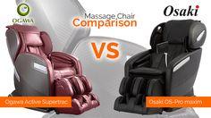 Ogawa Active Supertrac Massage Chair vs Osaki OS-Pro Maxim Massage Chair Comparison   Massage Chair Planet   Massagechairplanet.com