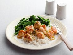 Rachael's Lemon Chicken: Rachael's Chinese-inspired chicken is ready in less time than it would take to order and deliver takeout.