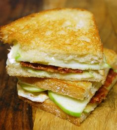 Brie and Bacon Grilled Cheese