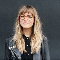 Bangs # Modus # Mode # Stil # Inspiration – New Site – Best Hair Style Models Hair Day, New Hair, Balage Hair, Blond Pony, Bangs And Glasses, Glasses Style, Glasses For Long Faces, Long Hair With Bangs, Blonde Hair With Fringe