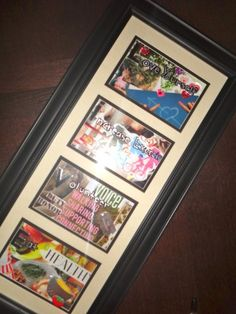 DIY Craft of the Month: Framed New Year's Resolutions