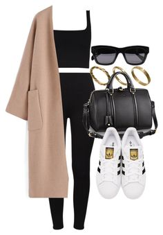 Style #11429 by vany-alvarado on Polyvore featuring polyvore, fashion, style, adidas Originals, Made, CÉLINE and clothing