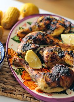 JERK CHICKEN - Rezept: Karibisches Jerk Chicken mit Cole Slaw