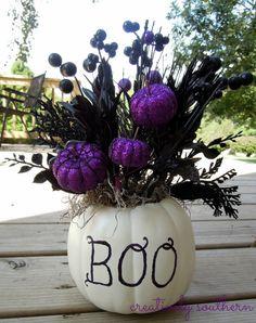 halloween craft pumpkin idea