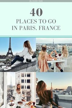40 PLACES TO GO IN PARIS FRANCE | paris, france, eiffel tower, the lourve, vacation, holiday ideas, places to go | Paris is so much for than the typical Eiffel Tower, who knew there were so many exquisite attractions!