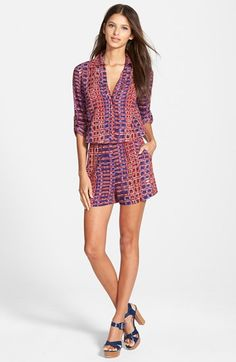 Plenty+by+Tracy+Reese+Easy+Romper+available+at+#Nordstrom, $148 small, rayon