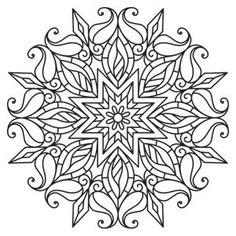 Mendhika Sunshine Medallion design (UTH6508) from UrbanThreads.com