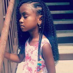 natural hairstyles black little girls Black Kids Hairstyles, Baby Girl Hairstyles, Kids Braided Hairstyles, Trending Hairstyles, Cute Hairstyles, Curly Hair Styles, Natural Hair Styles, Kid Braid Styles, Braids For Kids