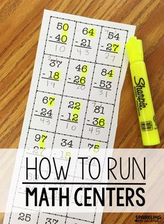 Math centers can be a challenge. See how organize my centers and changed how I r… Math centers can be a challenge. See how organize my centers and changed how I run my math centers in my first grade classroom in a way that saved my sanity! Math Rotations, Math Centers, Numeracy, 2nd Grade Centers, Center Rotations, Learning Centers, Maths 3e, Math Math, Math Fractions