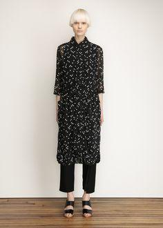 Comme des Garcons COMME Square Dot Dress (Black)