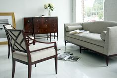 Living Room Inspiration // Rosenau collection by Bolier for Decca Home