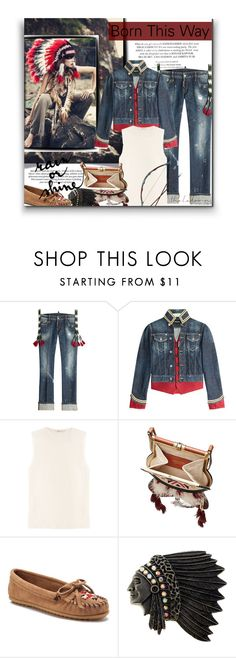 """""""Come Find Me"""" by sherieme ❤ liked on Polyvore featuring Dsquared2, T By Alexander Wang and Minnetonka"""