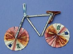 Make a Fahrrad basteln Make a bike - Diy Gifts, Best Gifts, Creative Money Gifts, Pin Tool, Pin Collection, Making Ideas, Wedding Gifts, Diy And Crafts, Birthday Gifts
