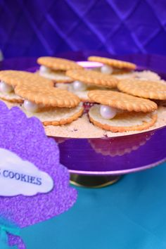 Cookies ideas for under the sea or mermaid party!