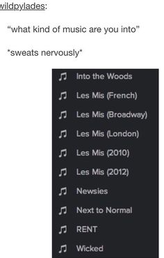Only my Les Mis ones are French, l'Entregal, TAC, OBC, Dutch 2008...the list goes on. *hangs head*