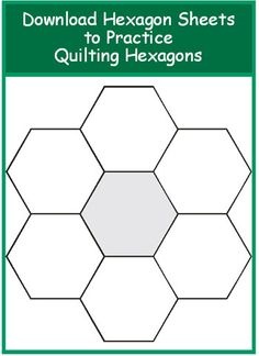 Excellent article on quilting hexagons. Has templates for experimenting. How to Quilt Hexagons /Geta's Quilting Studio Patchwork Quilt, Patchwork Patterns, Quilt Block Patterns, Quilting Templates, Quilting Tutorials, Quilting Projects, Hexagon Quilt Pattern, Quilt Studio, Paper Piecing Patterns
