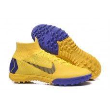Botas de futbol Nike SuperflyX 6 Elite TF MD Amarillo Purpura 31a28388b7af7