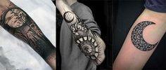 Moon tattoo men - Tatuaje de luna hombres #tatuaje #luna #moonmen
