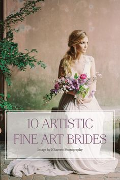 10 Gorgeous Bridal Portraits inspired by Still Life Paintings for a Fine Art Wedding | NBarrett Photography
