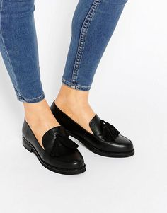 London Rebel | London Rebel Tassel Loafers at ASOS