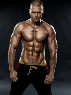 29 Male models with six pack abs
