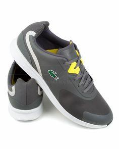 the best attitude c1758 fb415 Zapatillas Lacoste LTR - Gris Lacoste Trainers, Lacoste Shoes, Lacoste Men,  Nike Lebron